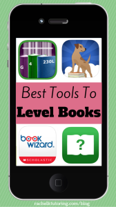 Best Tools To Level Books | Rachel K Tutoring Blog