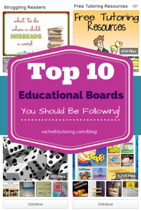 Top 10 Educational Boards | Rachel K Tutoring Blog