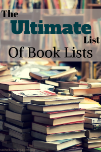 Ultimate List of Book Lists | Rachel K Tutoring Blog