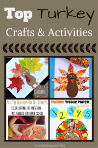Top Turkey Crafts & Activities | Rachel K Tutoring Blog