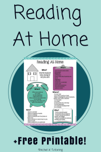 Reading at Home - Featured on Minds in Bloom!