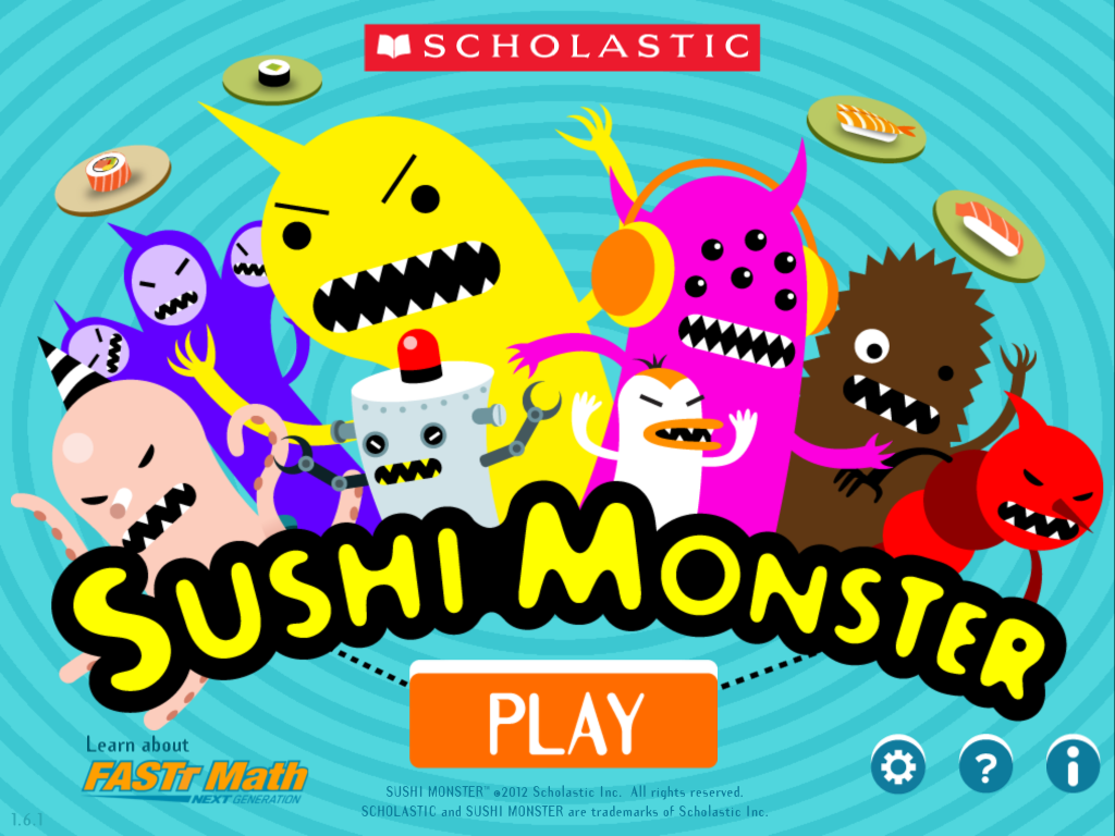 play sushi monster math