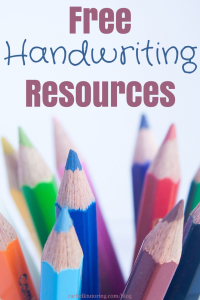 Free Handwriting Resources | Rachel K Tutoring Blog
