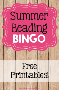 Summer Reading Bingo | Rachel K Tutoring Blog