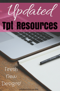 Updated Tpt Resources | Rachel K Tutoring Blog