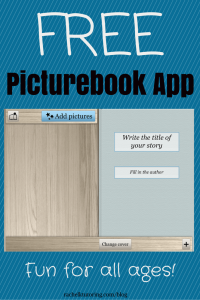 Free Picturebook App | Rachel K Tutoring Blog