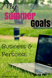 Summer Goals | Rachel K Tutoring Blog