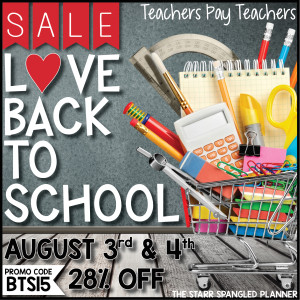 Tpt Back to School Sale! | Rachel K Tutoring Blog