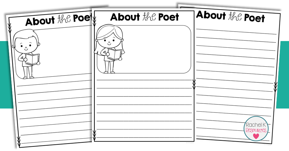 poetry booklet template poetry book template rachel k tutoring blog